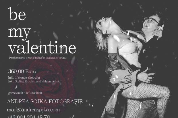 Valentinstag-Geschenk und Valentin-Shooting