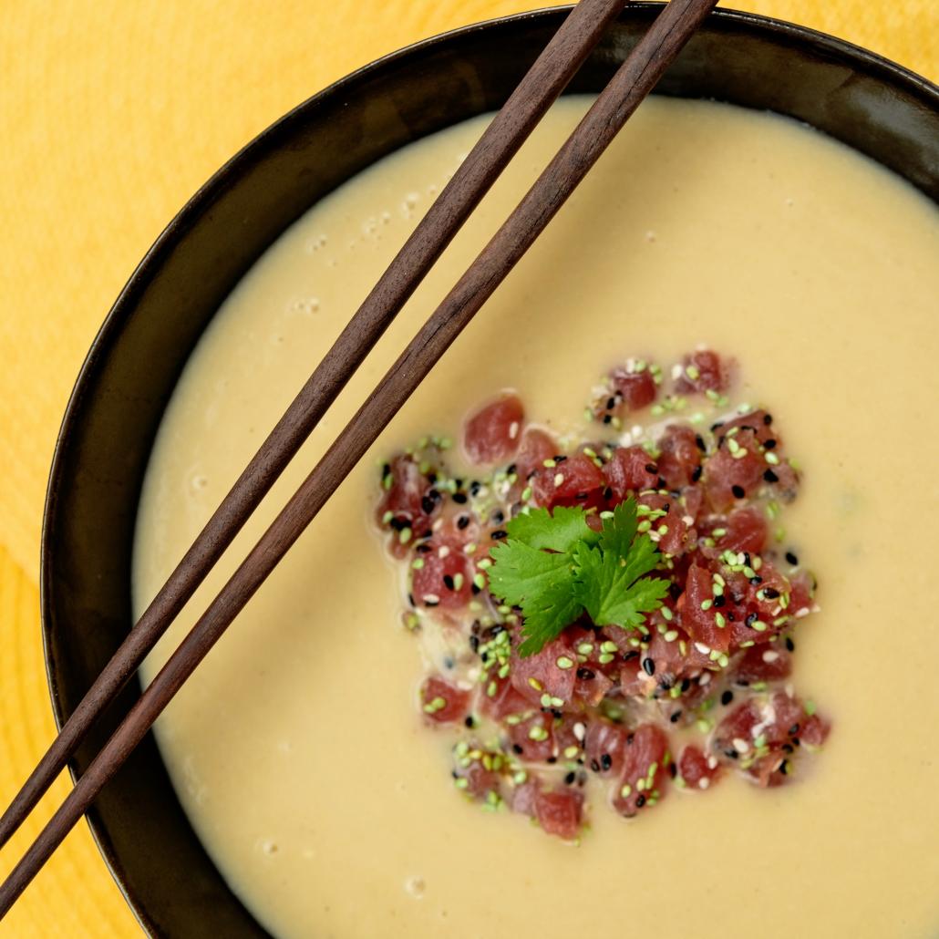 food suppe speisen lachs
